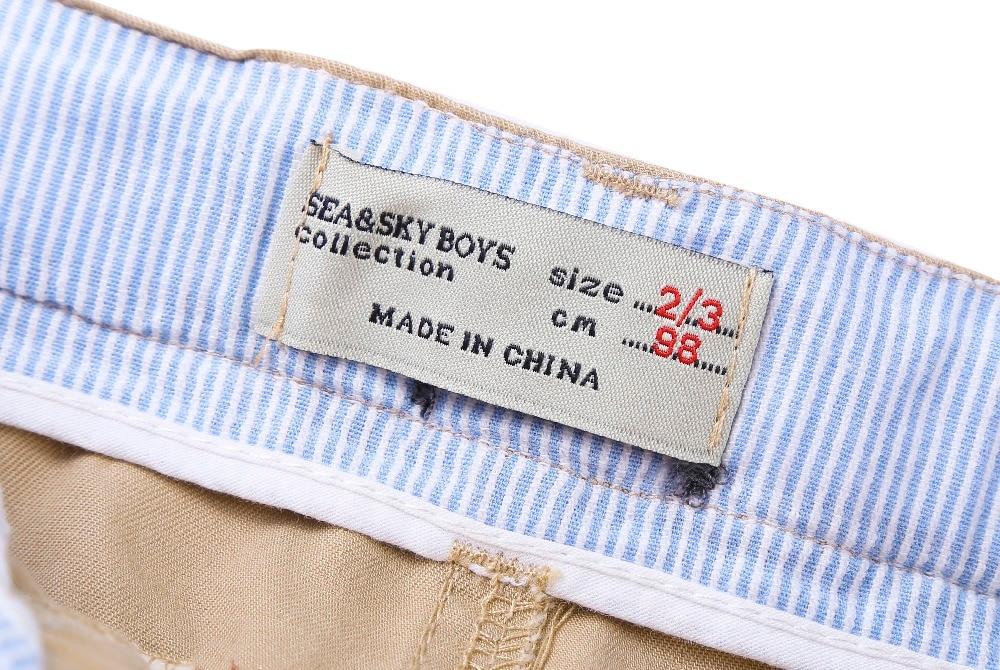 Nouvelle Arrivée Bébé Garçons D'été Coton pantalon Garçons - Vêtements pour enfants - Photo 6