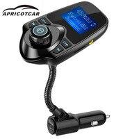 Автомобильный комплект громкой связи беспроводной Bluetooth Полный частотный fm передатчик поддерживает MP3/WMA/WAV музыкальный плеер в автомобиле