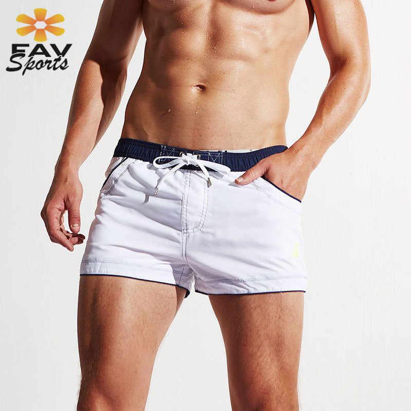 Mens Pantai Celana Musim Panas Celana Renang Untuk Surfing Papan Celana Elastis Cepat Kering Menjalankan Olahraga Keringat Celana Pakaian Renang