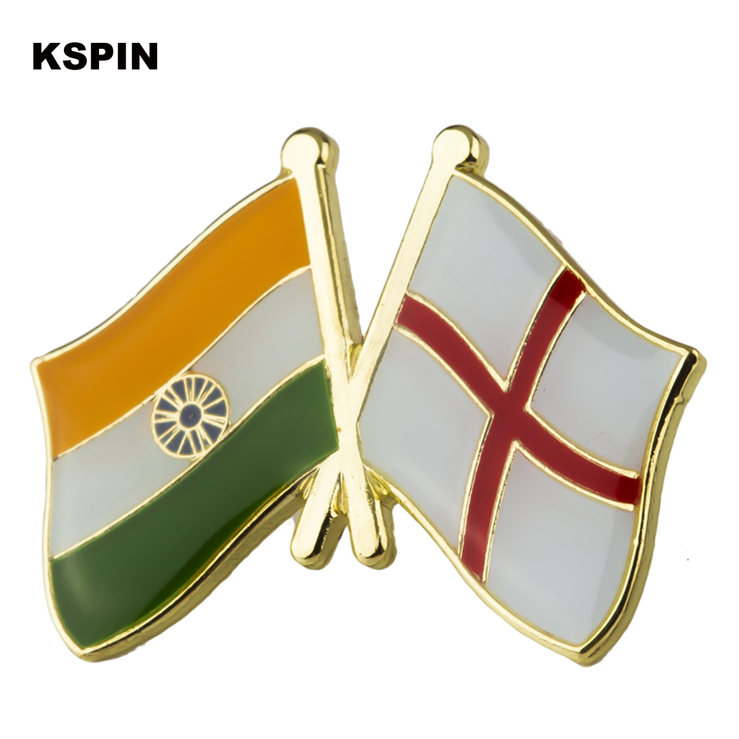 Home & Garden Badges 2019 Latest Design 1pcs Rainbow And Ireland Friendship Badge Icon Bag Decoration Buttons Metal Badges Brooch For Clothes Xy0240
