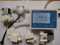 1 Kit NEW RO Pure Water Filter Controller Display ZJ LCD F7+Solenoid Valve+Switch+Flow Sensor+TDS