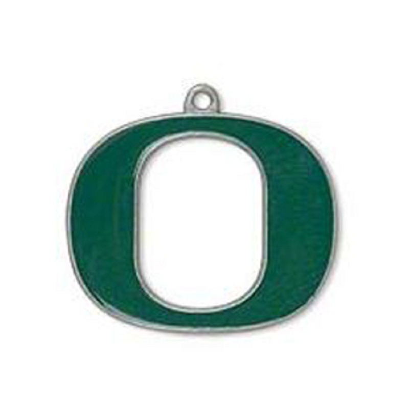 10pcs/lot Enamel Oregon Ducks Dangle Charms College Football Team Pendant Charm Fit For  ...