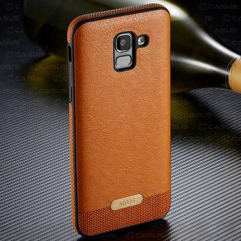 PU Leather Back Case Galaxy J6 2018