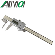 Big discount 0-150mm Tube thickness digital caliper stainless steel electronic high precision good quality