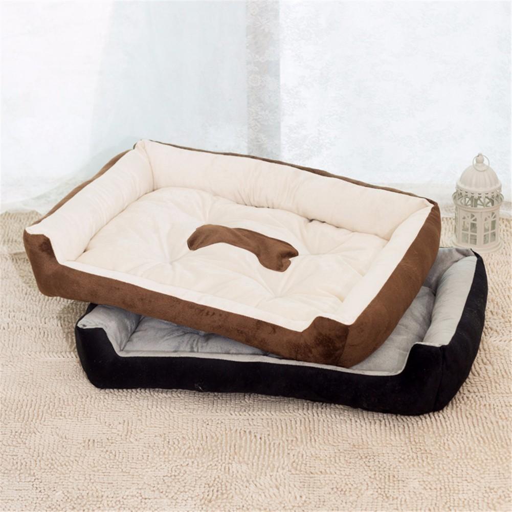 1 pcs 30 * 40 * 15/40 * 50 * 15 Hewan Peliharaan Dog Cat Bed Plush - Produk hewan peliharaan