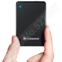 Brand Transcend ESD400 External SSD Solid State Drive 256GB Portable SSD USB 3.0 SATA Hard Disk Drive 1.8» HDD For Apple Mac OS