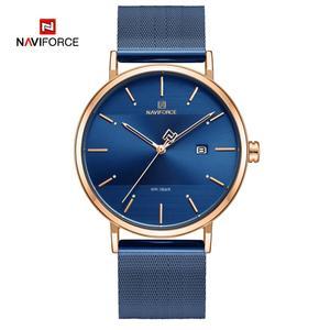 Image 2 - NAVIFORCE relojes para mujer, correa de acero inoxidable, de pulsera, de cuarzo, elegante, femenino