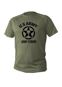 2019 gorąca sprzedaż koszulka męska z krótkim rękawem zielona oliwka Us Army Military Men Tactical Usa