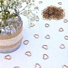100/50pcs Wedding Table Decorations Hollow Rustic/Vintage Wooden Hearts Love Con Table Scatter Decoration Accessories @15(China)