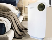 Air Purifier ionizer True Hepa Filter, Allergies Eliminator for Smokers, Dust, Mold, Formaldehyde Home Pets Cleaner
