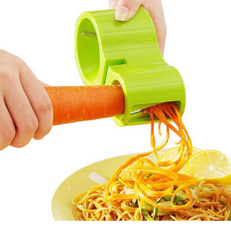 Спиральная овощерезка лапша из цуккини, устройство для резки спагетти, Овощечистка, кухонные приспособления, резак, овощечистка