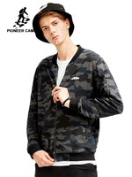 Pioneer camp new camouflage jacket coat men brand clothing casual fashion jacket for men quality jackets male AJK801021