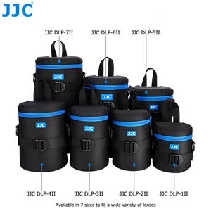 JJC Deluxe Camera Waterproof Bag Lens Pouch for Canon Sony Nikon Olympus Panasonic Pentax JBL Xtreme Soft DSLR Polyester Case