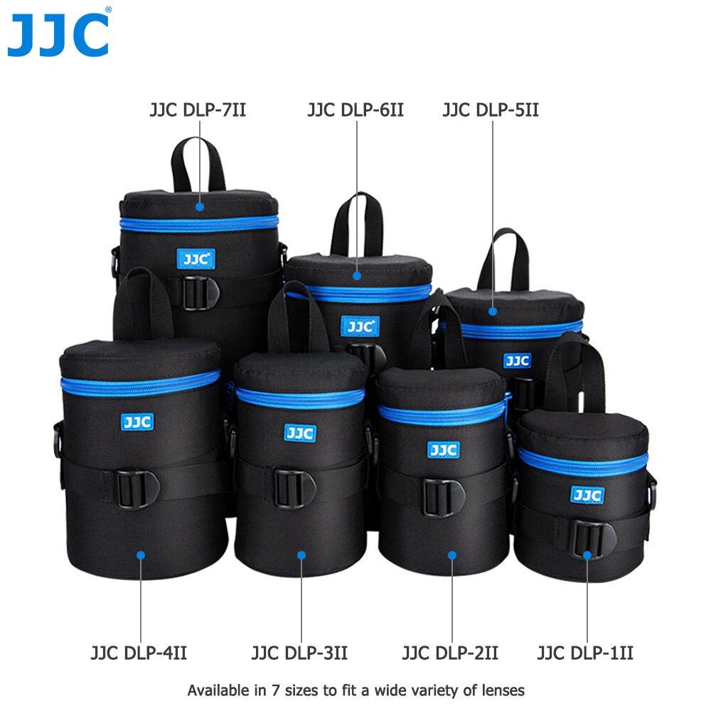JJC Lente DSLR Câmera À Prova D' Água de Fibra de Poliéster Bolsa JBL Xtreme saco Macio de Luxo Caso com Cinto para Canon Nikon Sony Olympus