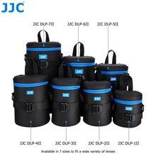 JJC ديلوكس كاميرا حقيبة مضادة للماء عدسة الحقيبة لكانون سوني نيكون أوليمبوس باناسونيك فوجي فيلم JBL إكستريم لينة DSLR البوليستر الحال