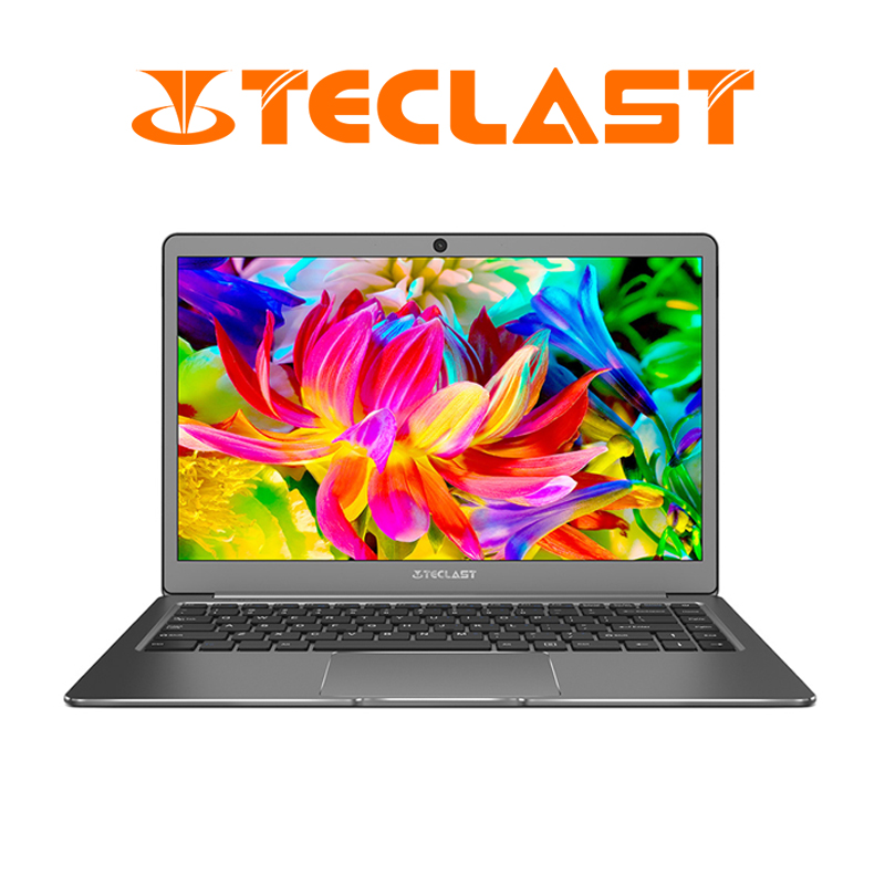 13.3 pouces 1920x1080 Teclast F6 Ordinateurs Portables Intel APOLLO LAC N3450 Quad Core Windows 10 Portable 6 GB RAM 128 GB HDMI
