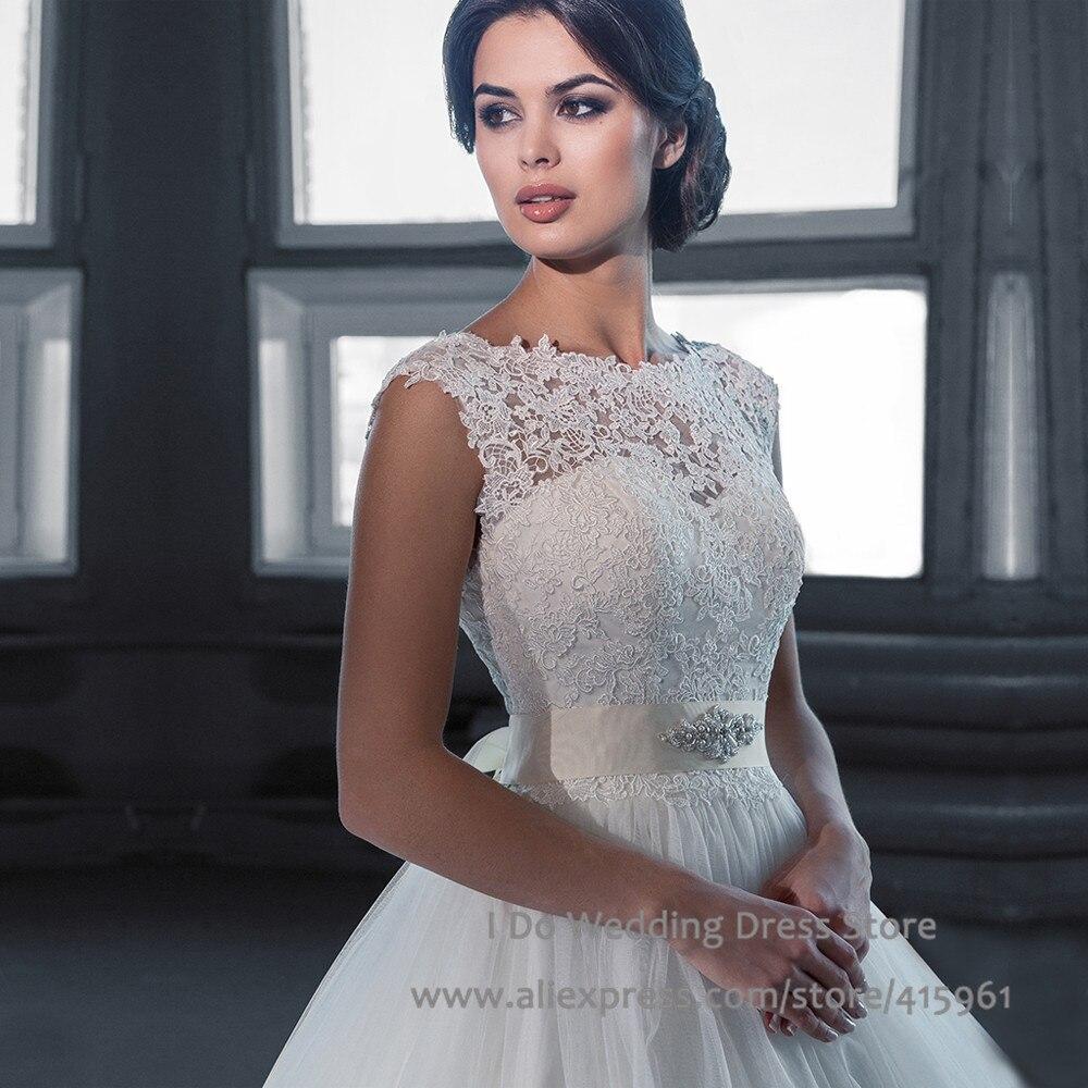 blu conservative wedding dress Blu