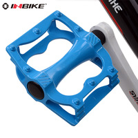 Inbike 1 Pair Bike Pedal Bicycle MTB BMX Road Bike Pedals Skidproof Untralight 200g 12 10