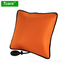 Tcare 1Pcs Portable Inflatable Lumbar Support Cushion Massage Pillow For Office Chair And Car Sciatic Nerve