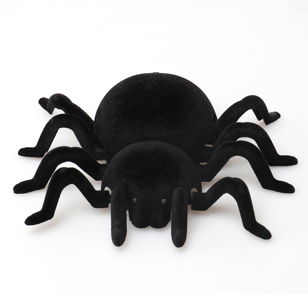 Remote Control Wall Climbing Creeper Spider RC Animals Toys for April Fools' Day Halloween Prank Realistic Scary Tricks
