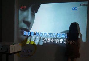 Image 5 - ViEYiNG LED chiếu HD 1920x1080 rạp hát tại Nhà máy chiếu 3D chiếu LCD Proyector Full HD projetor Pk led96 bt96 m5 Máy Chiếu