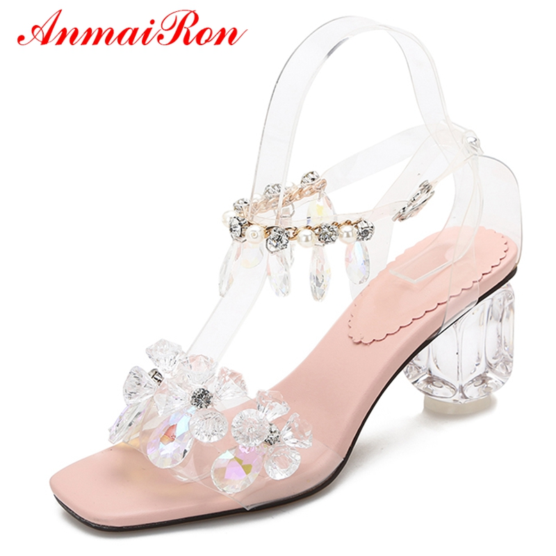 ANMAIRON   Gladiator  Casual  Buckle Strap  Women Sandals Summer 2019 High Heel Women Fashion Shoes Size 34-39 LY773ANMAIRON   Gladiator  Casual  Buckle Strap  Women Sandals Summer 2019 High Heel Women Fashion Shoes Size 34-39 LY773