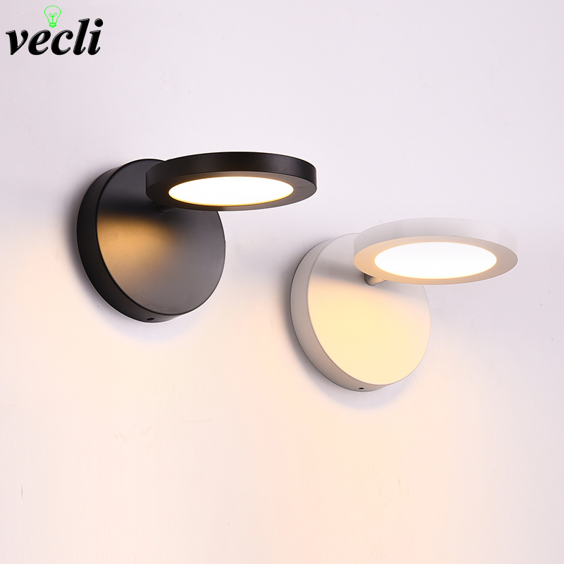 6w LED corridor living room bedroom study balcony aisle stair porch bedside lamp creative personality adjustable wall lights led6w LED corridor living room bedroom study balcony aisle stair porch bedside lamp creative personality adjustable wall lights led