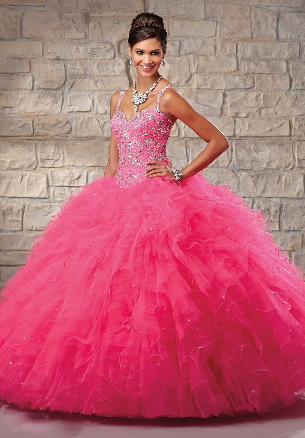 Compare Prices on Fuchsia Quinceanera Dresses- Online Shopping/Buy ...