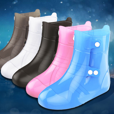 Outdoor Injection Moulded Rainshoe Cover Thickening Wear resisting, Rain proof and Waterproof Sport Shoe Cover