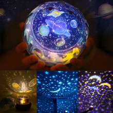 Rotating Universe Projector Planets Solar System Lamp Magic Starry Sky
