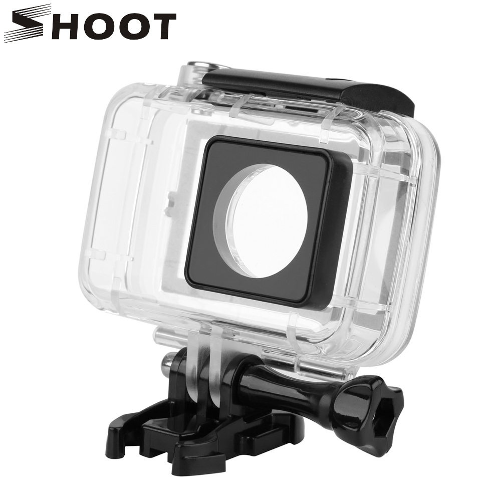 SHOOT 40M Diving Touchable Waterproof Case For Xiaomi Yi 4K 2 II Action Camera with Touch
