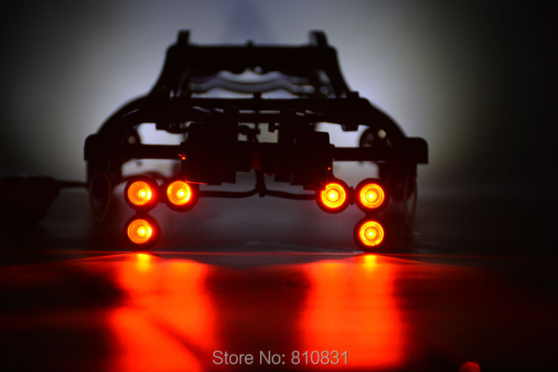 1/10 Rc Car Traxxas E REVO EREVO Nylon Body Cover Roll Cage Protection Double Wheel Wheelie Bar+12 Piece Lamp Headlamp