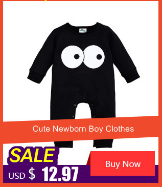 3ffebdabf7e0 웃 유Newborn Clothes Baby Autumn Jumpsuit Fleece Long Sleeve Romper ...