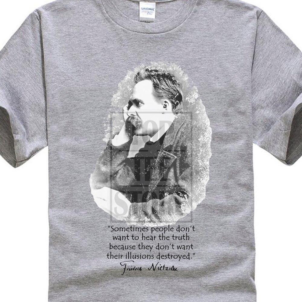 Friedrich Nietzsche Illusions T Shirt Quote Illusions Truth Nihilism