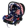 Venta caliente tipo cesta de coche de bebé asiento de seguridad para niños del coche cuna recién nacido bebés seguridad carseat para 0 ~ 1 años bebé