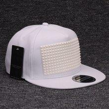 Soft Silicon Square Pyramid Snapback Baseball Cap