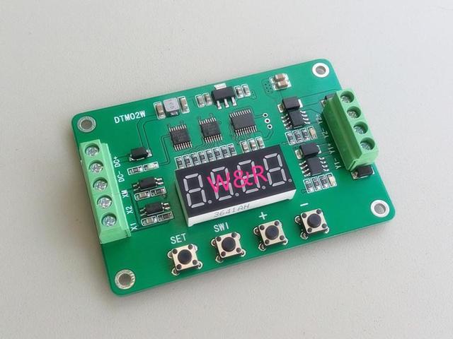 DTM02 многофункциональный 2 транзистор модуль/задержка/самостоятельной блокировки/цикл/сроки/DC твердотельные реле