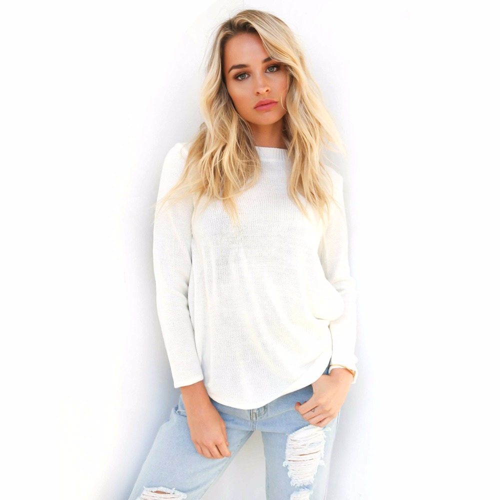 Popular White Cropped Sweater-Buy Cheap White Cropped Sweater lots ...