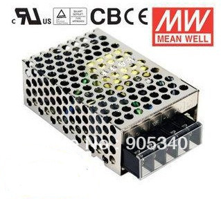 MeanWell NES-25-12 25W 2.1A 12V Single Output Switching LED Power Supply High Reliability Miniature SMPS CB CE UL meanwell 12v 75w ul certificated nes series switching power supply 85 264v ac to 12v dc