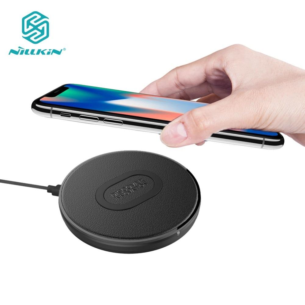 10 watt Qi Drahtlose Ladegerät Nillkin Schnelle Drahtlose Lade für iPhone XR/XS Max für Samsung S9/S8 /Note9/MIX 2 s Ladegerät Pad