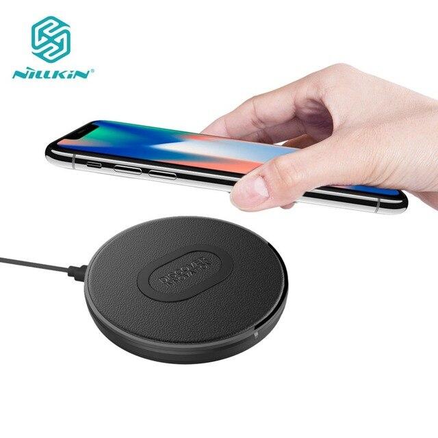 10W Qi מטען אלחוטי Nillkin מהיר אלחוטי טעינה עבור iPhone 11 פרו/XR/XS מקסימום עבור Samsung s10 S9 בתוספת Note10 מטען Pad