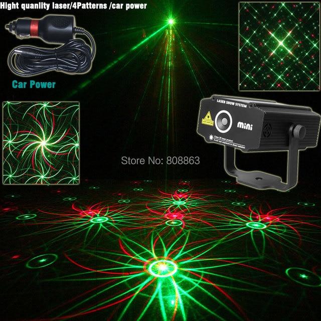 Car Used Plug Mini RG Patterns Laser Whirlwind Projector Light - Car laser light show