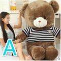 Creative Fashion Birthday Gift Large Size 60cm Plush Animals Bear Toys Lovely Teddy Bear with Clothes Plush Animals Bears