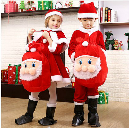 Christmas clothing children costumes girls Christmas show adults acting under Santa dress suit meet me under the mistletoe christmas tee