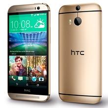 """htc ONE M8 разблокированный сотовый телефон 5,"""" экран четырехъядерный 2 Гб ОЗУ 32 ГБ/16 Гб ПЗУ двойная задняя камера"""