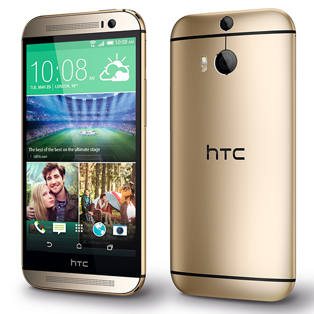 "Refurbished Original HTC ONE M8 Unlocked Cell Phone 5.0"" Screen Quad-Core 2GB RAM 32GB/16GB ROM Dual Back Cameras 1"