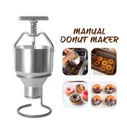 Nuovo Arrivo 2.5L Creatore Della Ciambella Robot da Cucina In Acciaio Inox Dispenser Ciambella Muffa di Misura Adattabile di Snack Macchina