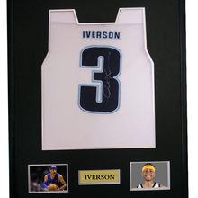3bcff36ce33f Allen Iverson signed autographed basketball shirt jersey come with Sa coa  framed-in Frame from Home   Garden on Aliexpress.com
