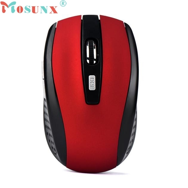 Mosunx mouse 2 4GHz Wireless Gaming Mouse USB Receiver Pro Gamer For PC Laptop Desktop