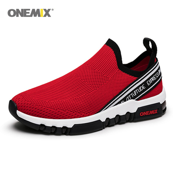 ONEMIX 2020 Men Running Sneakers Breathable Mesh Outdoor Jogging Shoes Mens Running Shoes For Women Sports Light Walking Shoes onemix men running shoes breathable mesh sports sneakers women athletic walking shoes for outdoor jogging footwear size eu35 47